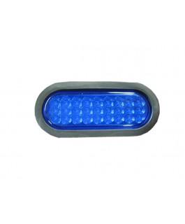 LED Light Oval Lens(Blue)