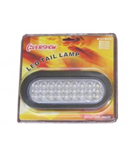 LED Light Clear Oval Lens (Each)