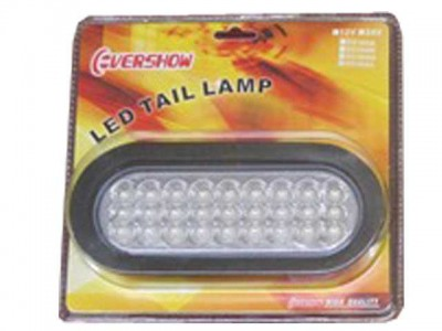 LED Light Clear Oval Lens