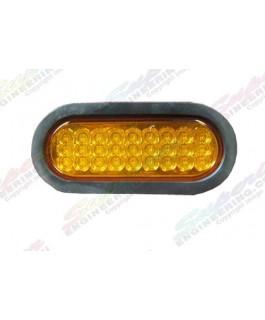 LED Light Oval Lens(Amber)