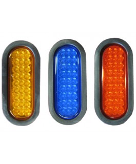 LED Light Oval Lens