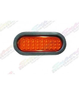 LED Light Oval Lens(Red)