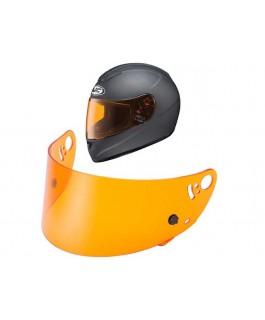 Rugged Radios Amber Shield for AR-10-II, FI-10, HX-10, SI-12 Helmets