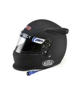 Rugged Radios Pyrotect Midair Helmet - Flat Black