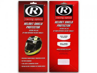 Racing Optics Helmet Shield Protector
