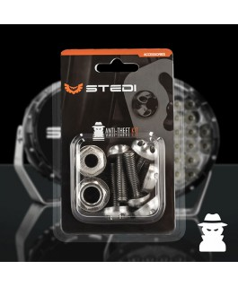 STEDI Anti Theft Kit For Type X 8.5 Inch and 7 Inch LED Light Spot Lights (Kit)