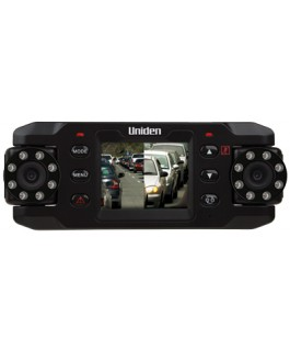 Uniden CAM820 Twin HD In Car Vehicle Recorder (Each)