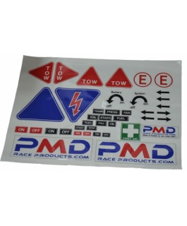 PMD Competition Sticker sheet