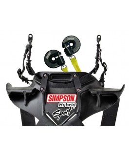 Simpson Hybrid Sport Head and Neck Restraints FIA Rated(Quick Release)