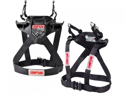 Simpson Hybrid Sport Head and Neck Restraints FIA Rated