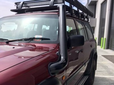 Patroldocta Stainless Snorkel Suitable For Nissan Patrol GU Series 1-2-3 Guard Entry with Airbox