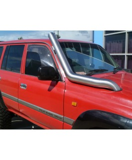 Patroldocta Stainless Snorkel Suitable For Toyota Landcruiser 80 Series Bonnet Entry with Airbox