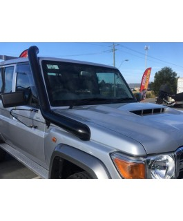 Patroldocta Stainless Snorkel Suitable For Toyota Landcruiser 76-78-79 Series TDV8 Guard Entry with Airbox