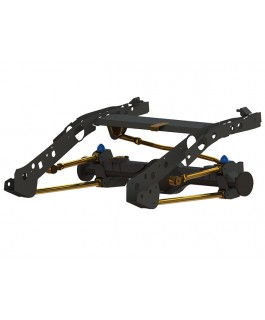 """Superior Weld In Coil Conversion VSB14 Approved 2"""" Inch Lift Kit Suitable For Ford PXII Ranger/Mazda BT-50 (ESC Models)"""