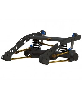 Superior Weld In Coil Conversion VSB14 Approved Lift Kits Suitable For Ford PXII Ranger/Mazda BT-50 (ESC Models)