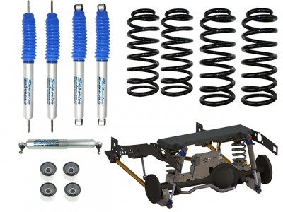 Superior Coil Conversion Stage 3 Full Front and Rear Kit Suitable For Toyota Landcruiser 79 Series Gen 2 (VSC Models)