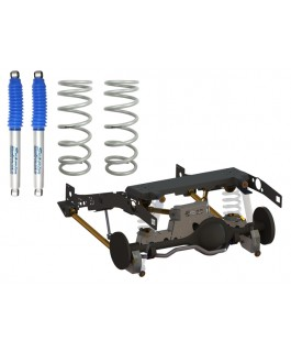 Superior Weld In Coil Conversion VSB14 Approved 2 Inch Lift Kit w/Nitro Gas Shocks (Rear Only) Suitable For Toyota Landcruiser 79 Series Gen 1 (Non-VSC Models)