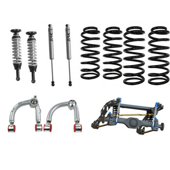 Superior Coil Conversion Full Front and Rear Kit Suitable For Ford Ranger PXII/Mazda BT-50 (VSC Models) with Fox Shocks