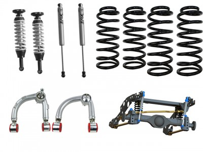 Superior Coil Conversion Full Front and Rear Kit suitable for Ford Ranger PXII (VSC Models) with Fox Shocks