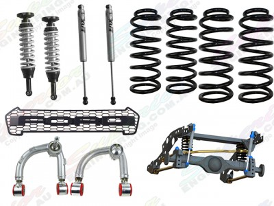Superior Coil Conversion Raptor-Style Pack Full Front and Rear Kit Ford Ranger PXII (VSC Models)