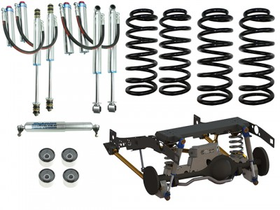 Superior Coil Conversion Stage 4 Full Front and Rear Kit Suitable For Toyota Landcruiser 79 Series Gen 2 (VSC Models)