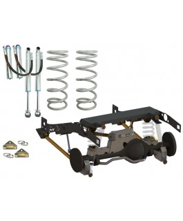 Superior Weld In Coil Conversion VSB14 Approved 2 Inch Lift Kit w/Remote Reservoir Shocks (Rear Only) Suitable For Toyota Landcruiser 79 Series Gen 1 (Non-VSC Models)