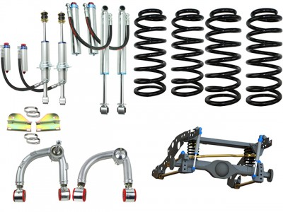 Superior Coil Conversion Stage 4 Full Front and Rear Kit suitable for Ford Ranger PXII (VSC Models)