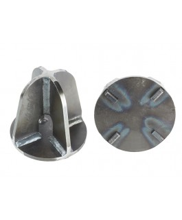 Superior Coil Drop Out Cone Suitable For Nissan Patrol GQ/GU (Weld In) (Pair)
