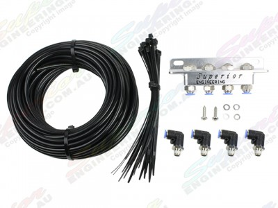 Superior Diff Breather Kit All Models 4 Port
