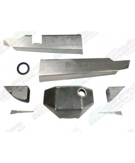 Superior High Clearance Super Duty Rear Diff Brace Kit Suitable For Nissan Patrol GQ/GU H233 (with Diff Guard)