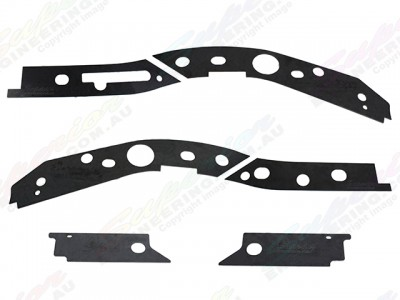 Superior Chassis Repair Plate Suitable For Mitsubishi Triton ML/MN Dual Cab Only