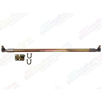 Superior Drag Link Comp Spec 4340m Solid Bar 2-6 Inch Lift Suitable For Nissan Patrol GU 1/2000 On Wagon Adjustable