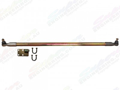Superior Drag Link Comp Spec 4340m Solid Bar 2-6 Inch Lift Suitable For Nissan Patrol GU 1/2000 On Wagon Adjustable