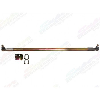 Superior Drag Link Comp Spec 4340m Solid Bar 2-6 Inch Lift Suitable For Nissan Patrol GU Ute and Pre 1/2000 Wagon Adjustable