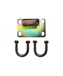 Superior Damper Bracket Suitable For Nissan Patrol GU Suit Panhard Rod (Tapered Pin) (Kit)