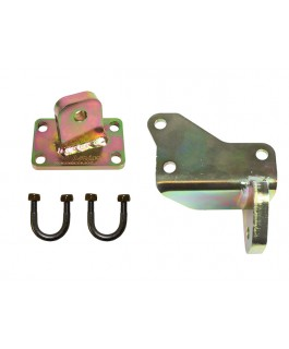 Superior Damper Brackets Upgrade Suitable For Toyota Landcruiser 79 Series (Tapered Pin)
