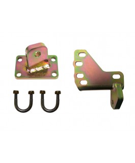 Superior Damper Brackets Upgrade Suitable For Toyota Landcruiser 79 Series (Tapered Pin) (Kit)