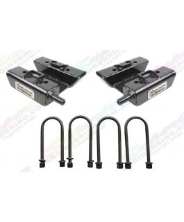 Superior U-Bolt Plate High Clearance Gen 2 Suitable For Landcruiser 60/75/76/78/79 Series (Rear Only)