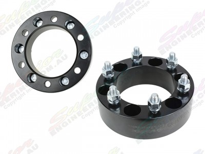 Superior Steel Wheel Spacers 1.5 Inch 6 Stud - Suitable For Landcruiser