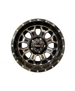 Superior Engineering Outback Wheel Gloss Black Double Dark Tint 17x9 -12 Offset PCD5/150 (Each)