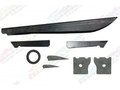Superior Diff Brace Kit Toyota Landcruiser 76/78/79 Series (without Diff Guard)