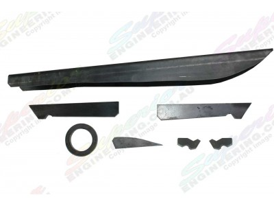Superior Diff Brace Kit Toyota Landcruiser 80/105 Series (without Diff Guard)