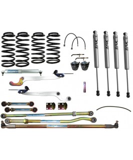 Fox 2.0 Performance Series IFP Hybrid Superflex 3 Inch Lift Kit Suitable For Nissan Patrol GQ