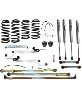 Fox 2.0 Performance Series IFP Hybrid Dropped Radius 3 Inch Lift Kit Suitable For Nissan Patrol GQ
