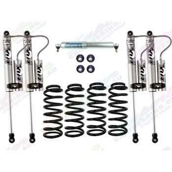 Fox 2.0 Performance Series Remote Reservoir 2 Inch Lift Kit Suitable For Nissan Patrol GU 2000 on Wagon