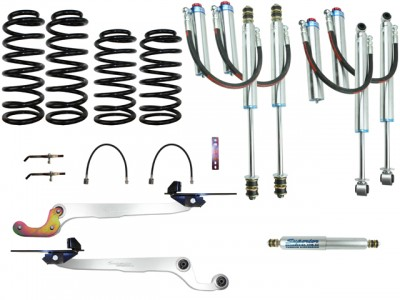 Superior Remote Reservoir Hybrid Superflex 2 Inch Lift Kit Suitable For Nissan Patrol GQ