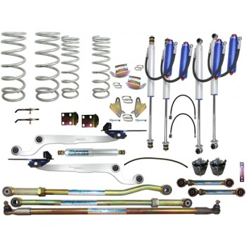Superior Remote Reservoir 2.0 Hybrid Dropped Radius 3 Inch Lift Kit Suitable For Nissan Patrol GU 2000 on Wagon