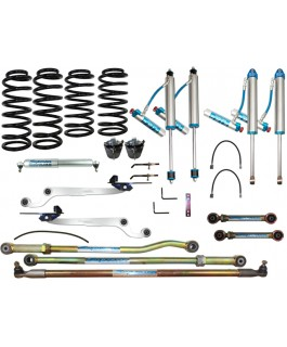King Shocks 2.5 OEM Performance Series Adjustable Hybrid Dropped Radius 3 Inch Lift Kit Suitable For Nissan Patrol GQ