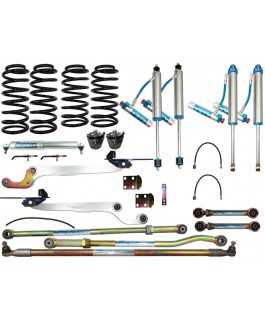 King Shocks 2.5 OEM Performance Series Adjustable Hybrid Superflex 3 Inch Lift Kit Suitable For Nissan Patrol GQ