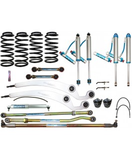 King Shocks 2.5 OEM Performance Series Adjustable Dropped Radius 4 Inch Lift Kit Suitable For Nissan Patrol GQ